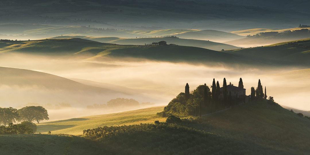 """Bildpräsentation """"Stimmungsvolles Morgenlicht in der Toskana"""""""