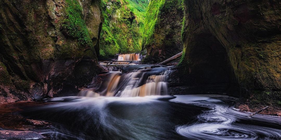 Finnich Glen – Die grüne Hölle von Schottland