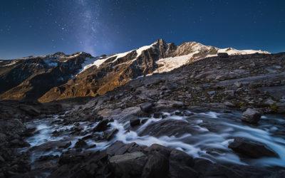 Bildpräsentation: Großglockner unter Sternen
