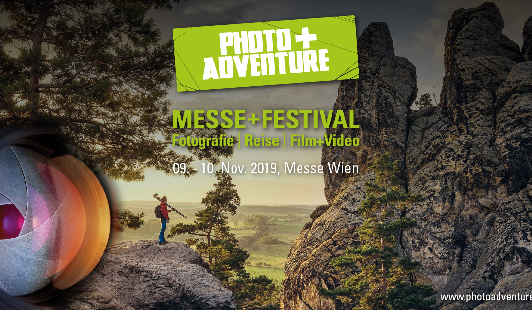 Fotoausstellung in Wien auf der Photo+Adventure Messe