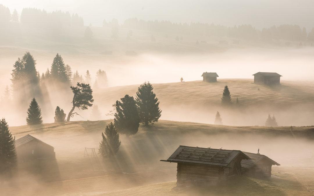 """Dolomiten """"Bergriesen im Herbst"""""""