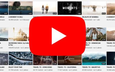 Meine TOP 5 Cinematic YouTube Kanäle