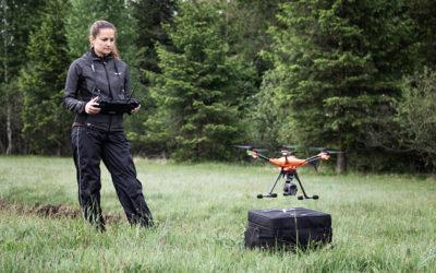 Rehkitzrettung per Drohne